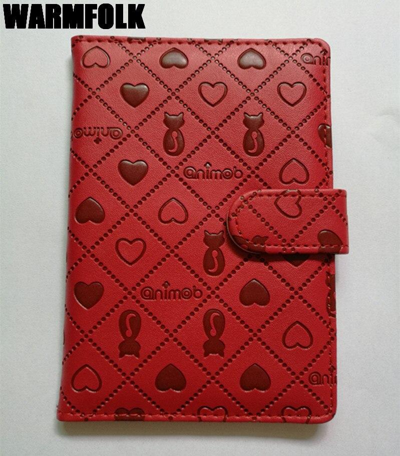 Hot Women Persian Passport Cover PU Leather Passport Case ID Credit Card Holder Unisex Passport Wallet PC-3