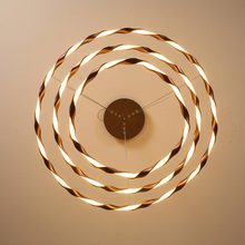 Modern Kitchen Dining Room Hanging Led Lamp White Ring Pendant Lights Fixture Metal Decor Home Lighting lustre 110-220V цена
