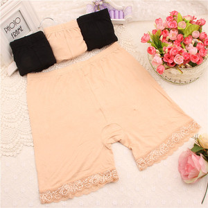 Image 5 - Sale New Summer XL XXXL Short Elastic comfortable anti light Trousers Short Trousers Under Leggings