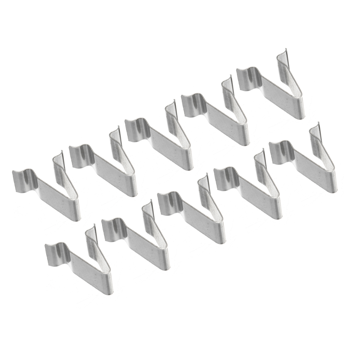 10pcs/set 22mm Metal Spring Trim Clip Car Retainer Rivet Fastener Clip For Audi Boot 4A0867276
