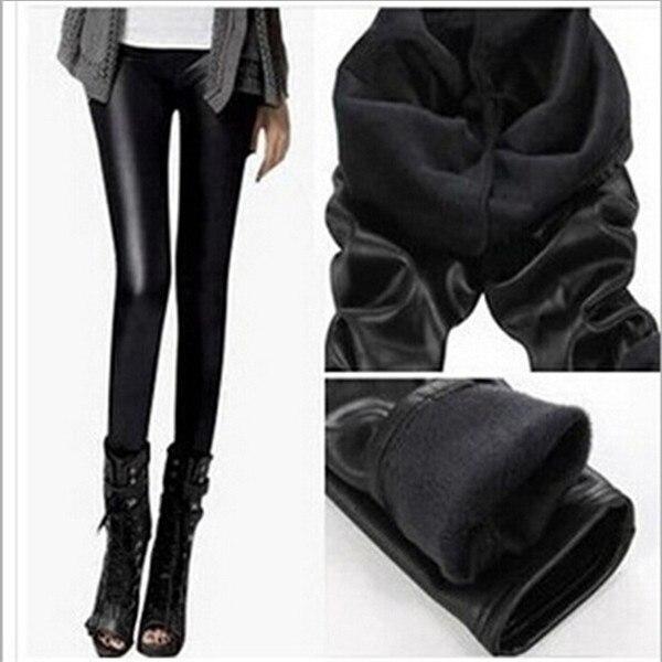 Hiver Skinny Leggings Chaud Pantalon Bottes Femme Velours t4AqUwYxYg