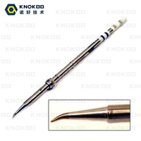 KNOKOO T13 Soldering Iron Tips T13 J02 T13 KF T13 KR Solder Tips For FX 951