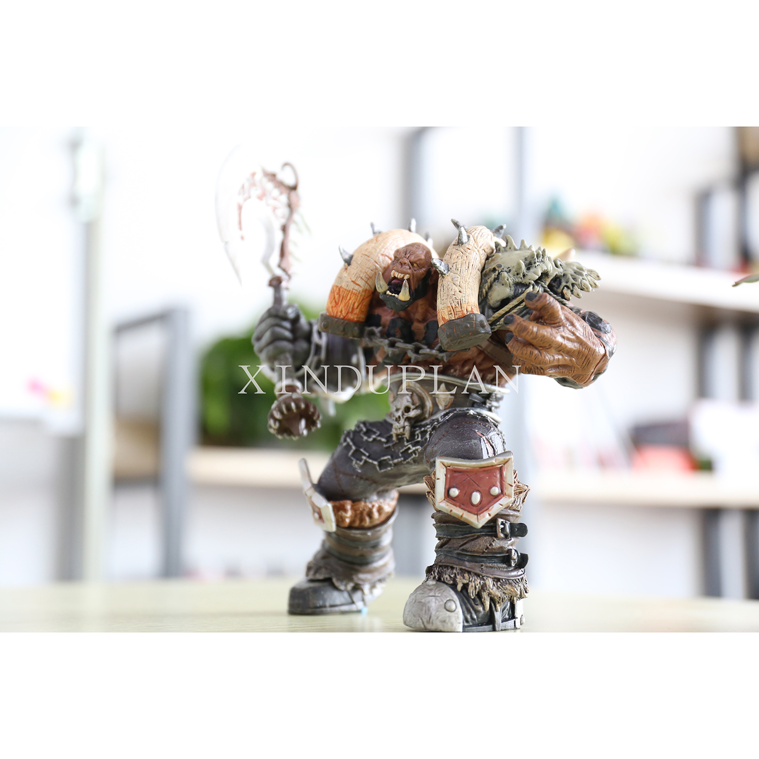 XINDUPLAN NEW Dota 2 Garrosh Hellscream Premium 8 eries Platinum big box Action Figure Toys Game 19cm PVC Collection Model 0688 eset nod32 антивирус platinum edition 3 пк 2 года