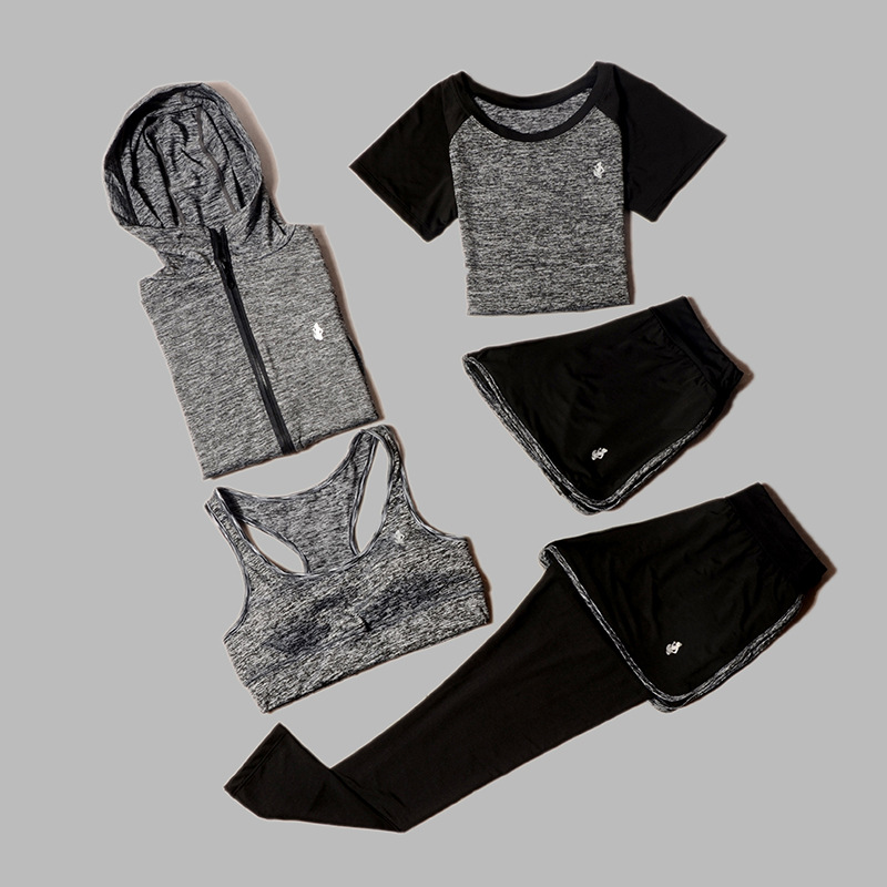 Women 39 s Yoga Sets Five Piece 5 Set Women 39 s Clothing Sets Women 39 s Gym Clothing Sportswear Sports Coaching Gym Training Clothes in Yoga Sets from Sports amp Entertainment