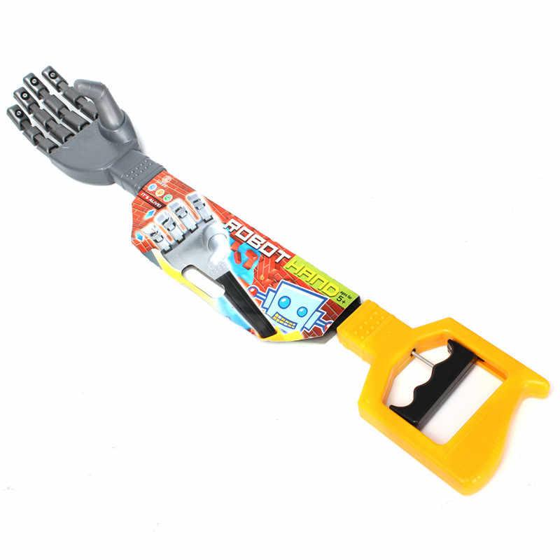 Robot de plástico de alta calidad, garra, agarrador de mano, palo, juguete para chico, mueve y agarra cosas, Robot DIY