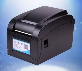 80mm Thermal Barcode Label Printer High Quality Sticker Label Printer Print Quick Support Bar Code Qr Code Printing