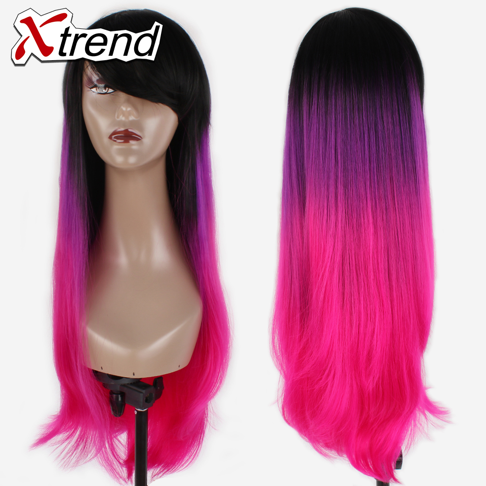hot pink hairstyles promotion-shop for promotional hot pink
