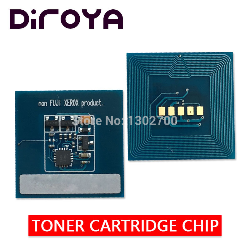 1set 006R01525 006R01528 006R01527 006R01526 Toner Cartridge chip For Xerox Color 550 560 570 copier powder refill reset chips