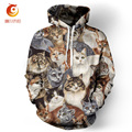 2017 Spring Hoodies Men 3d Printed Harajuku Cat Men Hooded Sweatshirt Hip Hop Pullovers Moleton Masculino Cotton Felpa Da Uomo