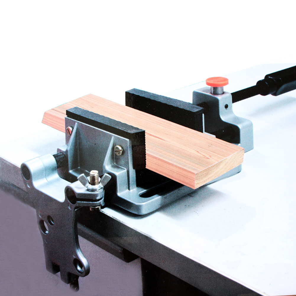 Aluminum Alloy Table Flat Bench Vise Drill Press Milling Vise Fixture Worktable for Wood Metal Plastic Milling Machine universal aluminum alloy table flat bench vise drill press vise small vise for woodworking diy tool milling machine