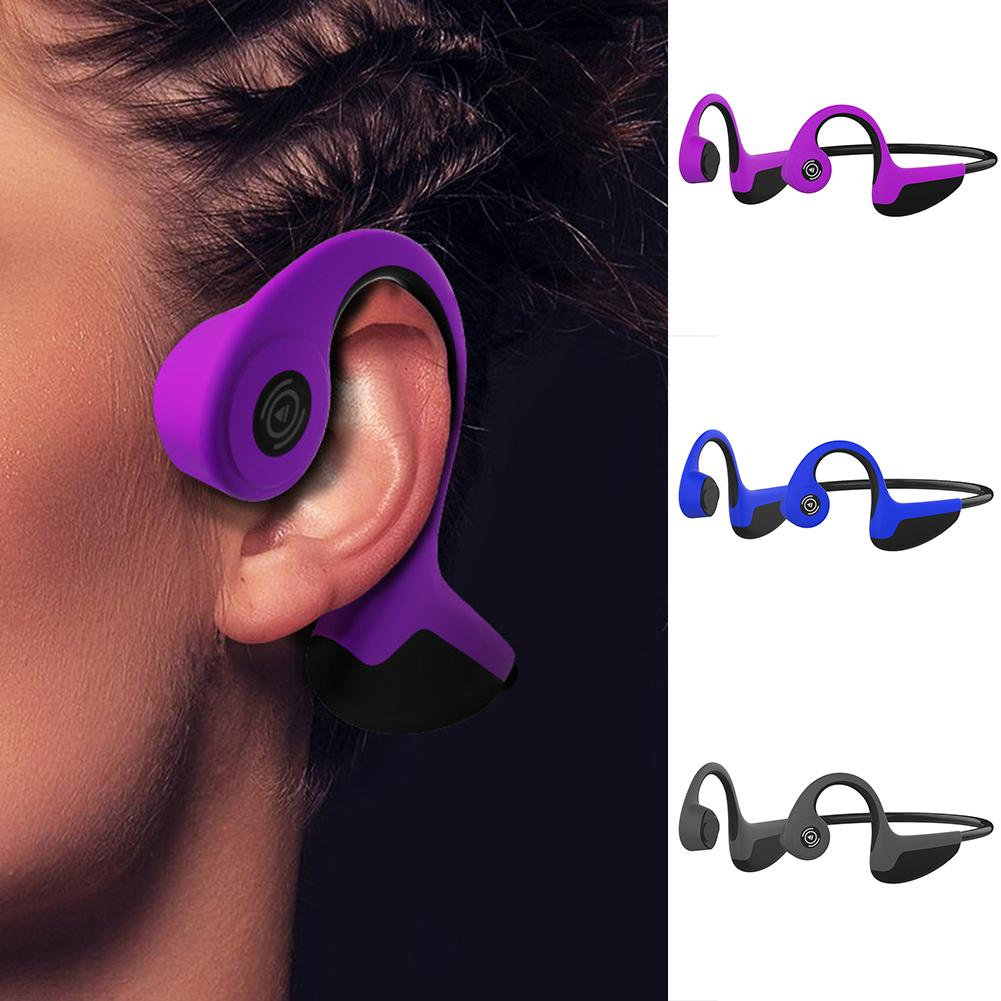 Fashion Bluetooth Wireless Headphones Bone Conduction Earphones Outdoor Sport Earhook