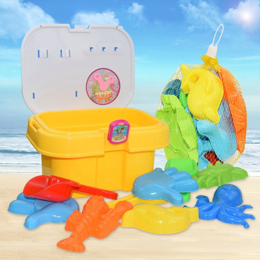 Play Toys Random Color Sand Toys Sets Rake Shovel Play Sand Water Tools For Children Sand Beach Toy For Kids Sandbox L0605