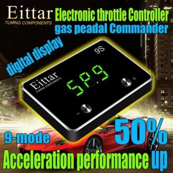 Car Styling 9-Mode Comandante Automóvel Eletrônico controlador do acelerador Acelerador Pedal Do Acelerador Do Carro Para TOYOTA Sequoia 2007 +