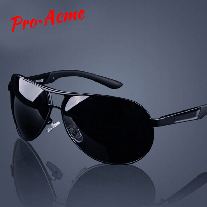 Pro Acme Classic Men Polarized Sunglasses Polaroid Driving Pilot Sunglass Man Eyewear Sun Glasses UV400 High Quality CC0444