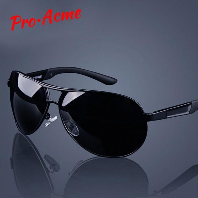 8f5ac3b5ae Pro Acme Classic Men Polarized Sunglasses Polaroid Driving Pilot Sunglass  Man Eyewear Sun Glasses UV400 High Quality CC0444