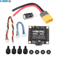 HAKRC 15A 20A 30A 40A 50A 4In1 50A 3 6S BLHeli_32 5V 3A BEC Dshot1200 Mini Size ESC for DIY Quadcopter FPV Racing Drone