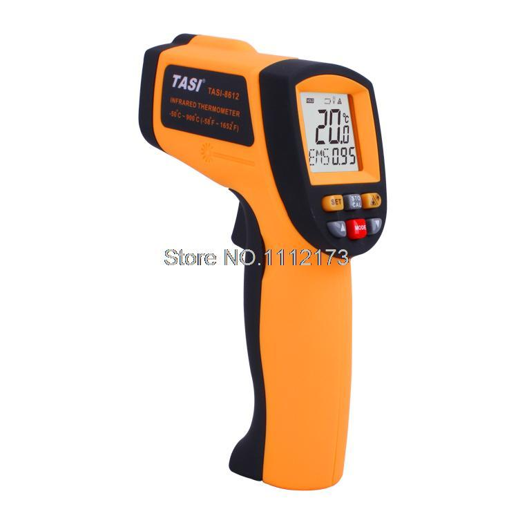 Digital Infrared Thermometer gun -50C~900C Degree non contact Temperature Unit Selection Industrial Thermometer meter TASI-8612 tasi 8606 infrared thermometer 32 380 degrees infrared thermometer non contact thermometer industrial and household