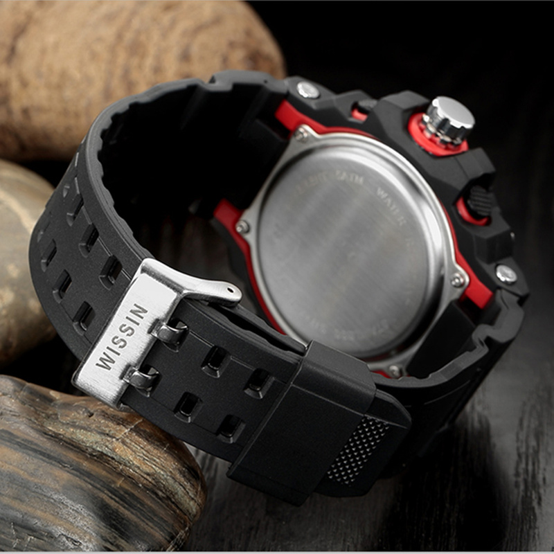 WISSIN Top Brand Fashion Watch Men Boys G Style Waterproof LED Sports Relogio Masculino S Shock Digital Military Watch Clock