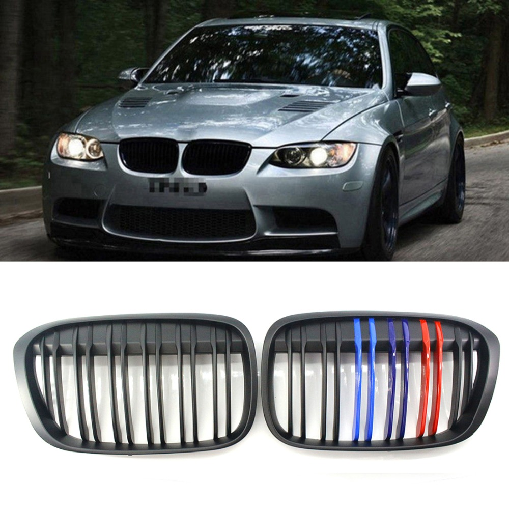 X Series M Style For BMW X1 F48 F49 Matte Black 2016 2018 Front Grille Racing Grills     - title=