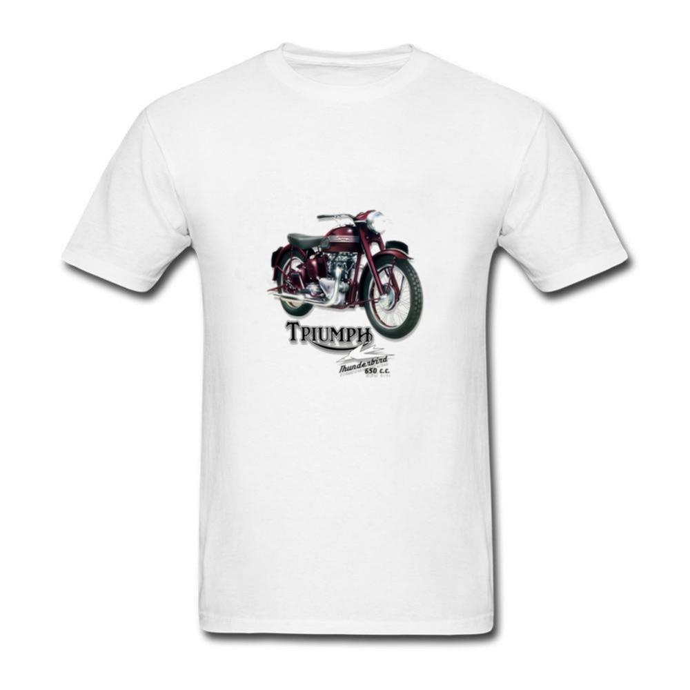 Hort Sleeves Casual Adult T-shirt S-2xl Mens Speed T Shirt Vintage 50s American Car Thunderbird Rockabillyhip Hop Street T-shirts Tops & Tees