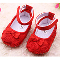 6 Colors Spring Summer Rose Baby Girl Shoes Soft Sole Princess Shallow Baby Moccasins With Butterfly-knot