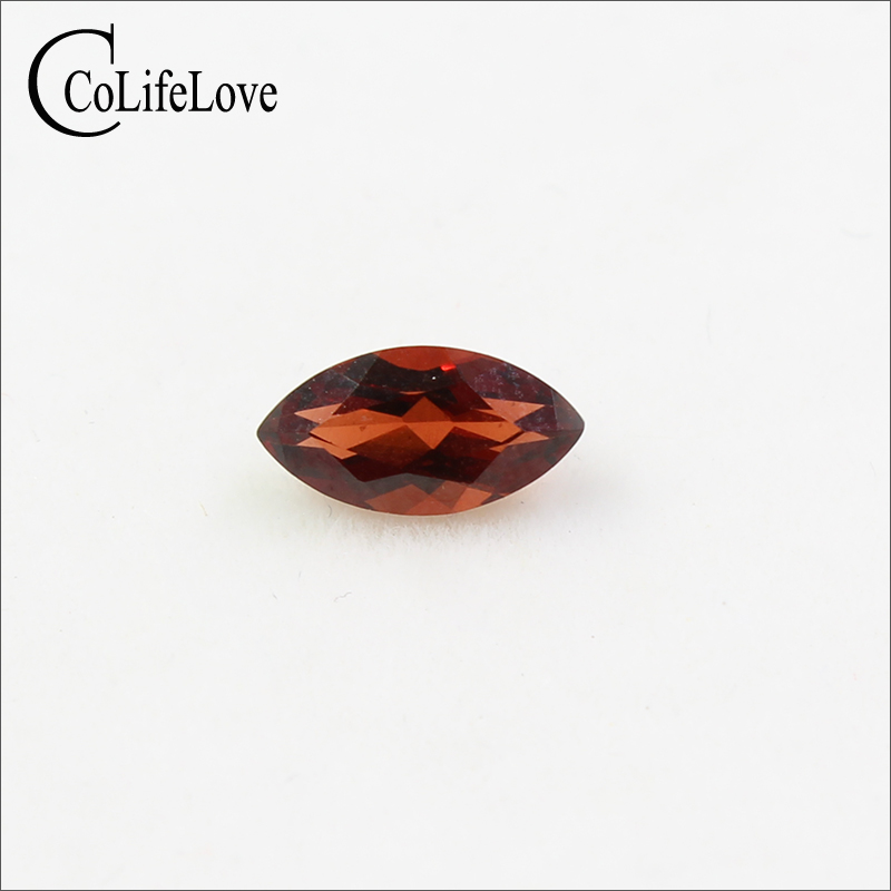 8 Mm Marquise Cut Garnet Loose Gemstone Natural Wine Red Garnet Loose Stone For Ring Earring Or Pendant Beads Logical 4 Mm