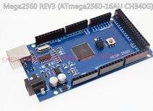 لوحة Mega 2560 R3 Mega2560 REV3 (ATmega2560 16AU CH340G) على كابل يو اس بي متوافق مع اردوينو [لا خط USB]