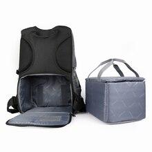 캐논/니콘/소니에 대한 prowell 방수 디지털 사진 패딩 배낭 다기능 야외 dslr 카메라 가방