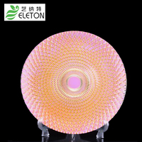 ELETON High Grade Crystal Glass Compote Dish Plates Personality Fruit Dessert Cake Plate Home Decor Hotel