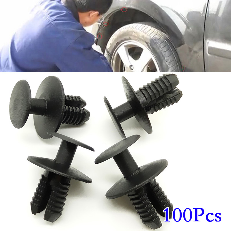 50x Wheel Arch /& Bumper Rivet Body Panel Retaining Trim Clips Fascia for BMW
