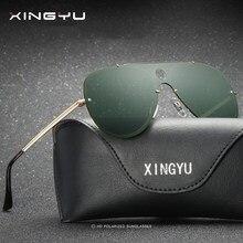 361684e9db Sung Woo nuevos hombres polarizados gafas sin marco marca diseñador piloto  gafas de sol lentes aviación espejo Pol XY0938