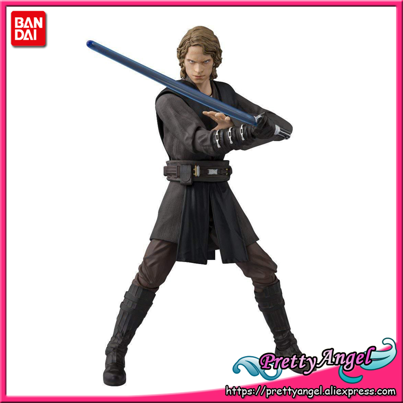 Genuine Bandai Tamashii Nations S.H. Figuarts Starwar Episode 3: Revenge of the Sith Anakin Skywalker Action Figure