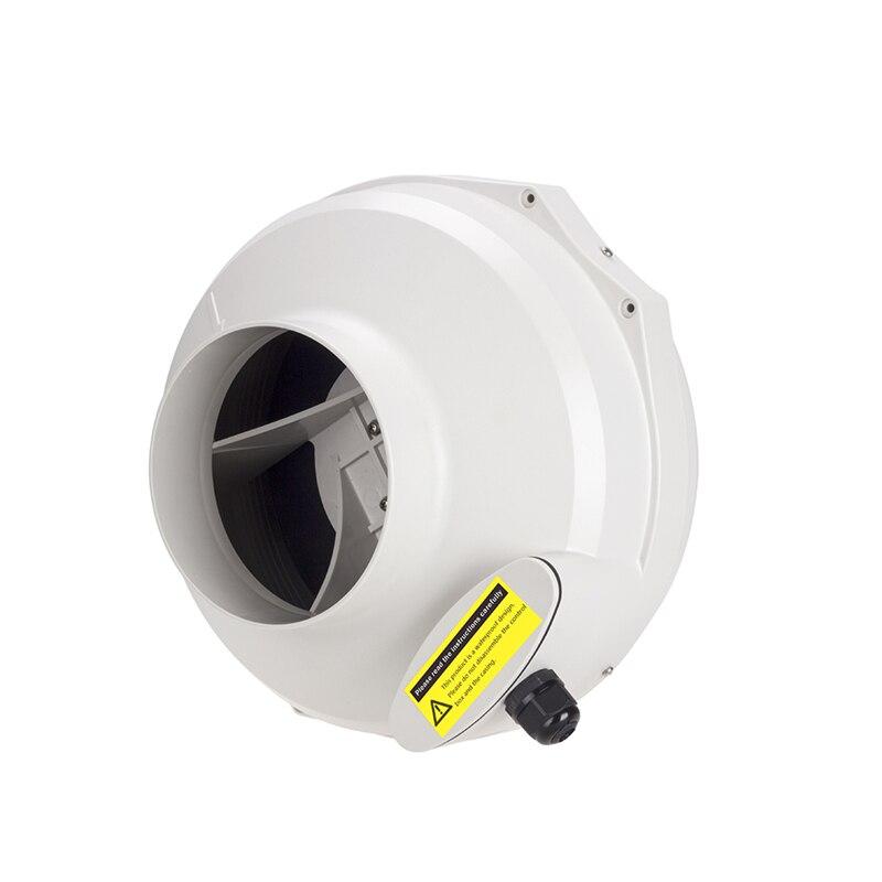6 inline duct fan centrifugal fan turbo silent high pressure bathroom waterproof exhaust ventilation fan blower 150mm 220V 110V