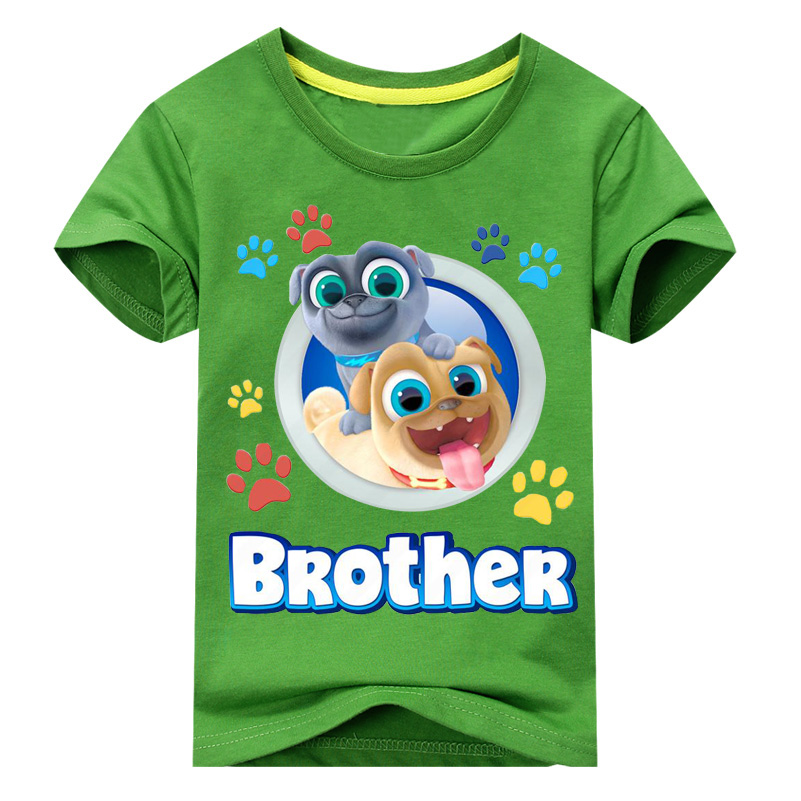3846fabf4 Boy 3D Funny Cartoon Puppy Dog Pals Printed T shirts Girls Short Sleeve T  Shirt For Kids Summer Clothes Children Clothing DX047-in T-Shirts from  Mother ...