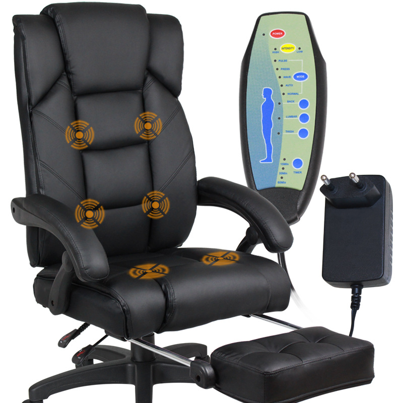 Home Office Computer Desk Massage Chair With Footrest Reclining Executive Ergonomic Heated Vibrating Office Chair Furniture  sc 1 st  AliExpress.com & Compare Prices on Ergonomic Leather Recliners- Online Shopping/Buy ... islam-shia.org