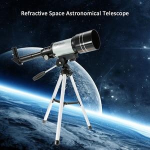 Image 5 - חיצוני HD טלסקופ 150X שבירה שטח האסטרונומי משקפת נסיעות אכון היקף עם חצובה ניידת מתכוונן מנוף