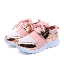 Leather Kids Shoes High Quality Children Sneakers 2019 Spring Summer Breathable Shoes Kids Sport Running Shoes for Boy and Girls