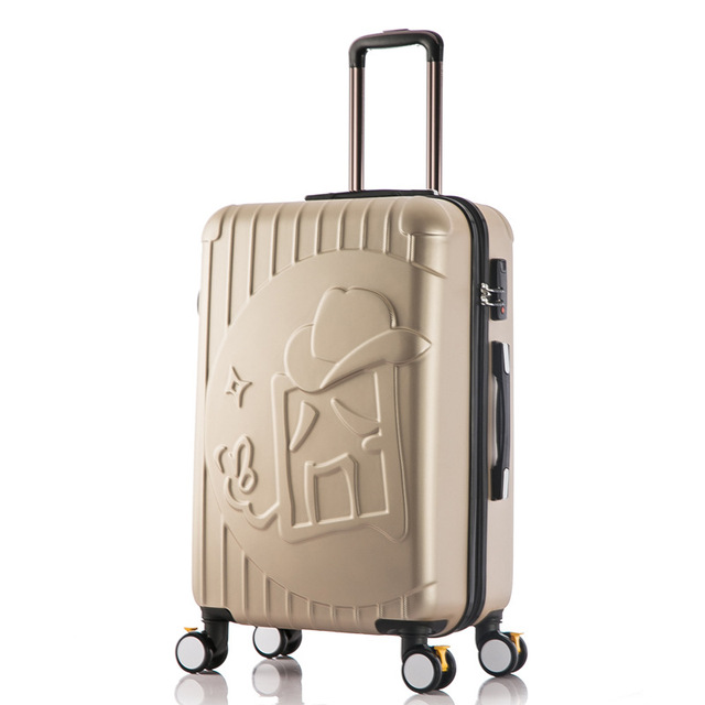20/24 Inches Luggage Universal Wheel Trolley Suitcase Boarding Box Waterproof Rolling Luggage Free Shipping