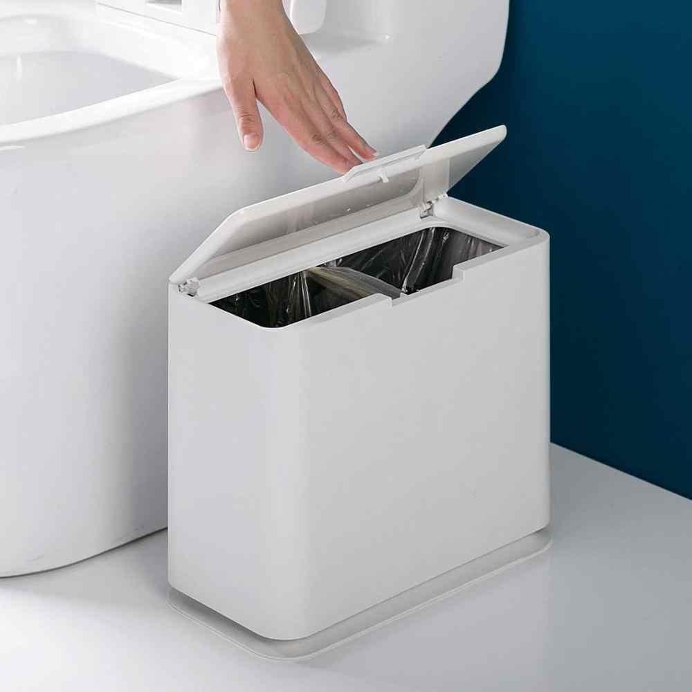 Box Per Bidoni Spazzatura servizi igienici di tipo 2 griglie copertura del punto