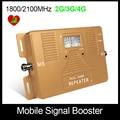 Высокое Качество! Двойной Bnad 2 Г + 3 Г + 4 Г 1800/2100 мГц Полный Смарт-мобильный усилитель сигнала повторитель сотовый телефон усилитель сигнала Только Усилитель!