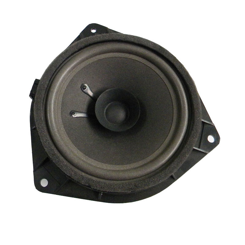 Quality 6.5 Inch 4Ohm Dual Cone Car Speaker Foam  Edge  Auto Loudspeakers  For Hyundai Toyota Universal Plastic Stand Gasket