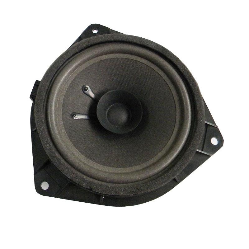 Quality 6.5 Inch 4Ohm Dual Cone Car Speaker Foam  Edge  Auto Loudspeakers  For Hyundai Toyota Universal Plastic Stand Gasket