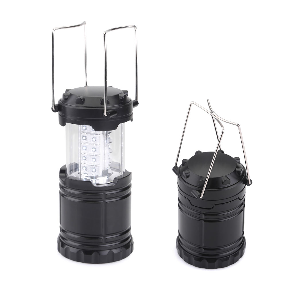 30 LEDs Camping Lamp Portable Ultra Bright Light Collapsible Lanterns Waterproof Tent Flashlight For Hiking Camping Emergencies