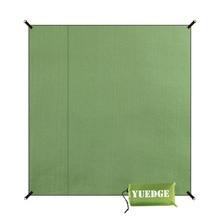 YUEDGE márka Vízálló kemping sátor Tarp lábnyom Földkő piknik mat Sand Free Beach mat napernyő