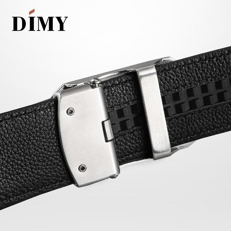DIMY Metal Z автоматические пряжки ремни для мужчин пояса из натуральной кожи пояса мужские высококачественные винтажные пряжки с буквами - 5