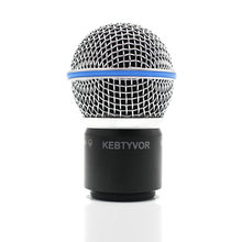 New Replacement Ball Head Mesh Microphone Grille with capsule for PGX24 SLX24 BETA58 Wireless