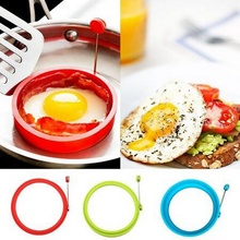 Silicone Fried Egg Pancake Ring Omelette Round Shaper Eggs Mould for Cooking Breakfast Frying Pan Oven Kitchen