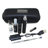 3 in 1 Wax Vaporizer Pen Kit Dry Herb electronic cigarettes zipper case kit with atomizer MT3 Glass atomizer ago G5 EVOD Battery