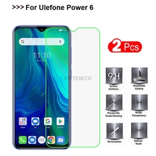 2PCS For Ulefone Power 6 Tempered Glass 9H 2.5D Premium Mobi