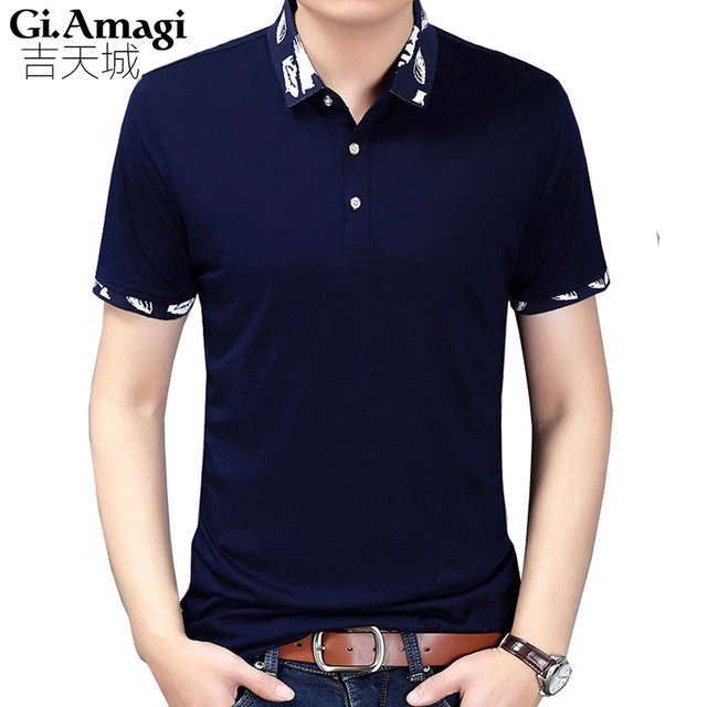 Hot Sale New Fashion Brand Men Polo shirt Solid Color Short-Sleeve Slim Fit Shirt Men Cotton polo Shirts Casual Camisa Polo M-3X